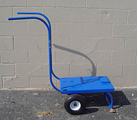 Cart With Rubber Tires