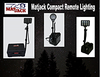 compact remote lights